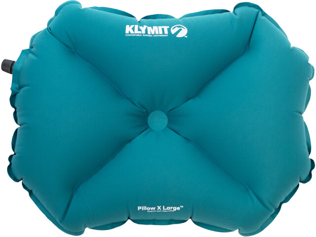 Klymit Pillow X L, teal